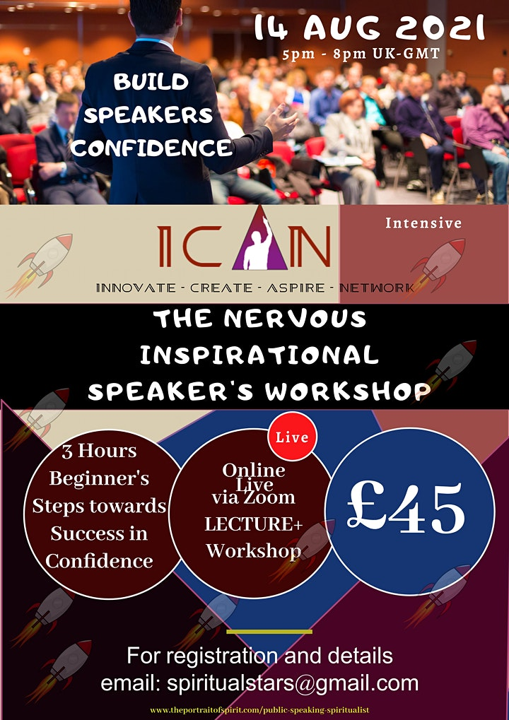 Public Speaking - The Nervous Inspirational (Spiritualist) Speaker image