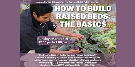 How to Build Raised Beds: The Basics tickets