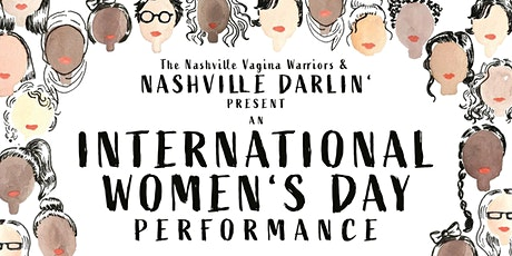 International Women's Day Performance tickets