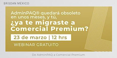 Adminpaq vs Comercial premium entradas