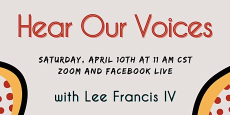 Hear Our Voices with Lee Francis IV tickets
