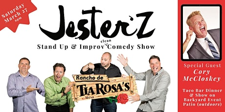 JesterZ Improv & Stand Up Comedy Show (& Taco Bar Dinner) tickets
