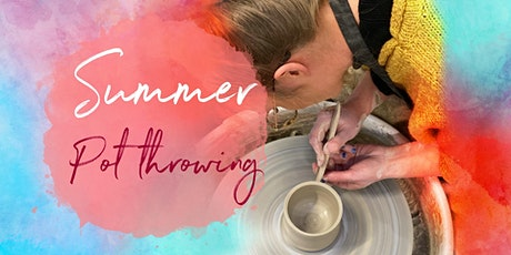 Clay Pot throwing Summer Studio Session: 17th July 2021 tickets