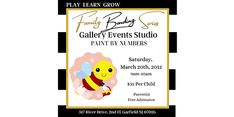 Gallery Events Studio Family Bonding Series: Paint By Numbers tickets