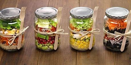 Salad in a Jar  / Homemade Salad Dressing Make n Take Workshop tickets