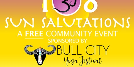 Bull City Yoga Festival 2021-108 Sun Salutation tickets