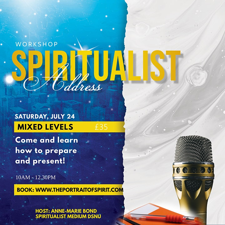 The Spiritualist Speakers Address - Philosophy and Structure image