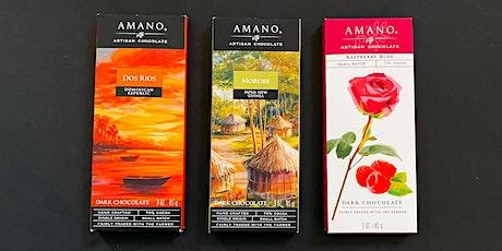 Online Chocolate Tasting with Amano Chocolate and 37 Chocolates (Vegan) entradas