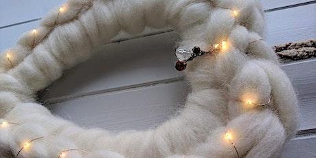 Hand Crochet Heart Wreath Workshop tickets