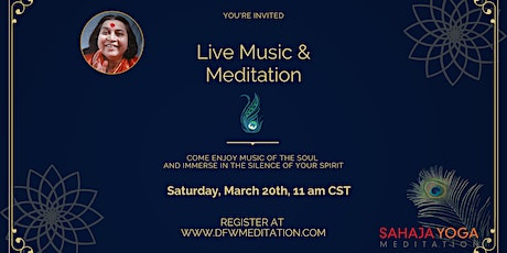 Live Music and Meditation tickets