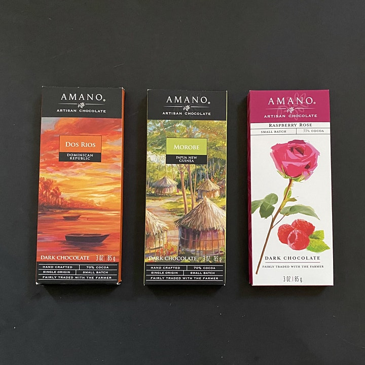 Online Chocolate Tasting with Amano Chocolate and 37 Chocolates (Vegan) image