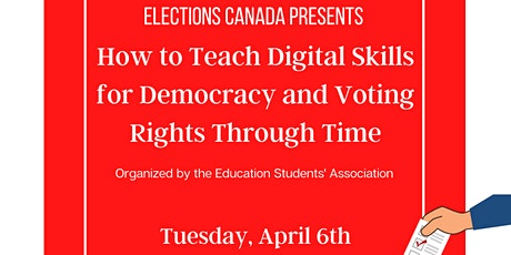How to Teach Digital Skills for Democracy and Voting Rights Through Time Tickets