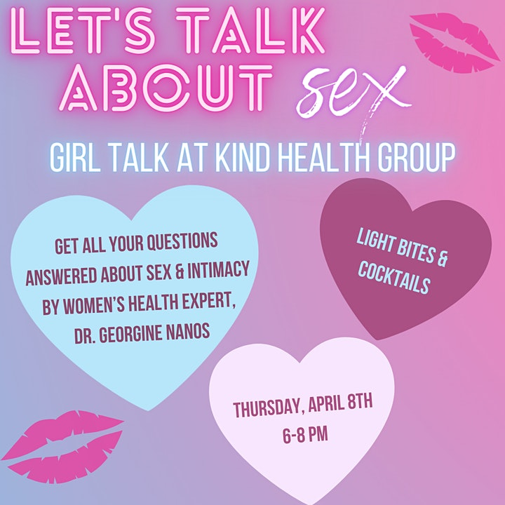Let's Talk About Sex! A Women's Health Event image