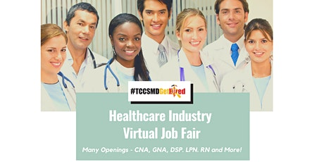 2021 Healthcare Industry Virtual Job Fair  - Jobseeker Registration tickets