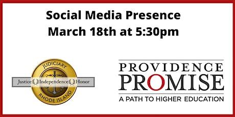 Social Media Presence tickets