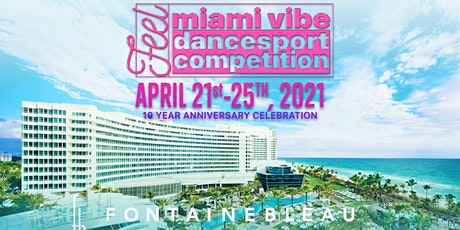 Miami Vibe Dancesport Competition 2021 tickets