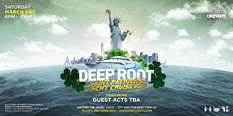 Saint Patrick's Jewel Yacht Cruise   Spring Grand Opening tickets