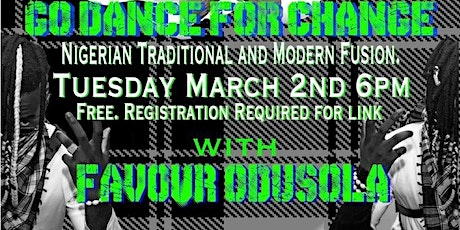 Nigerian traditional and modern fusion tickets