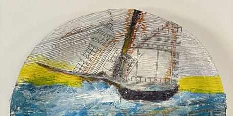 Bamboo Plate Collage Workshop tickets