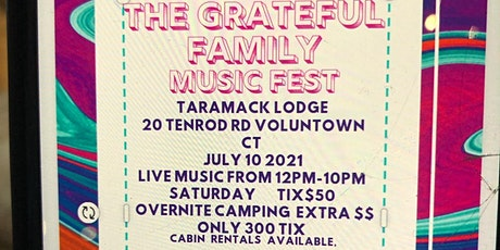 The Grateful Family Gathering Music Fest phase 1 tickets
