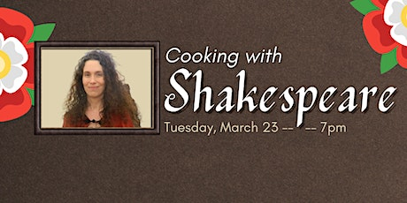 Cooking with Shakespeare tickets