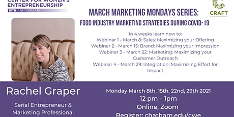 March Marketing Mondays: Marketing Strategies for the Food Industry during tickets