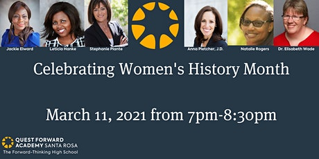Women's History Month Panel Discussion tickets
