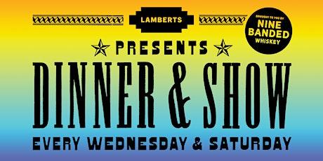 Dinner & Show:  Bart Crow tickets