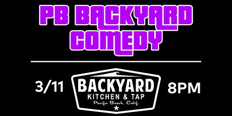 PBBackyardComedy @ Backyard in the Sideyard! tickets