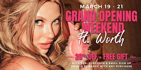 GRAND OPENING EVENT WEEKEND tickets