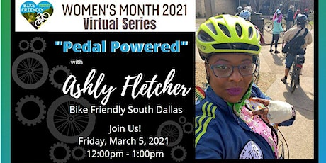 Pedal Power - Women Making History In The Cycling and Fitness Community tickets