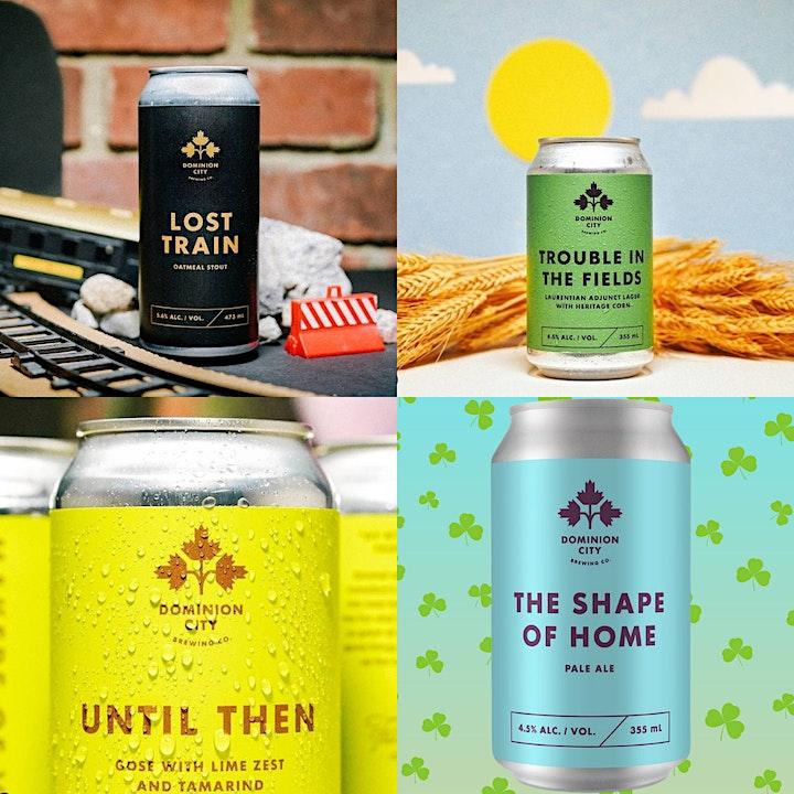☘️ St. Patrick's Day Virtual Beer Tasting Fundraiser ☘️ image