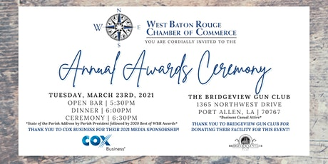 WBR Chamber of Commerce Annual Awards Ceremony tickets