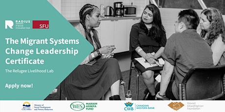 Info session: The Migrant Systems Change Leadership Certificate tickets