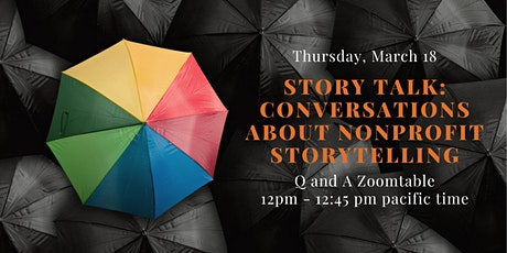 Story Talk: Conversations about Nonprofit Storytelling tickets