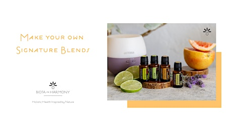 Make Your Own Signature Blend Using Essential Oils - Workshop tickets