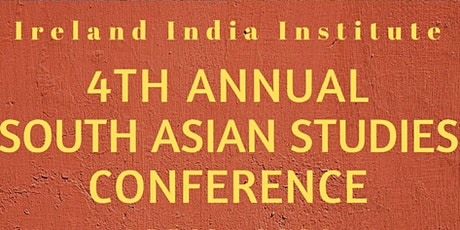 4th Annual South Asian Studies Conference tickets