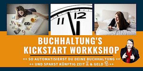 Buchhaltung's Kickstart Workshop - So automatisierst du deine Buchhaltung! Tickets