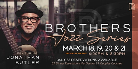 Jonathan Butler @ BROTHERS tickets