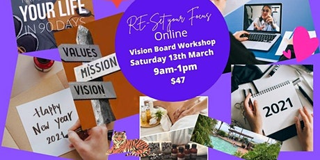 From Dreams to Destiny Vision Board Workshop tickets