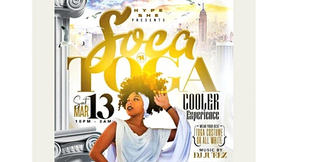 SOCA 'N TOGA COOLER EXPERIENCE tickets