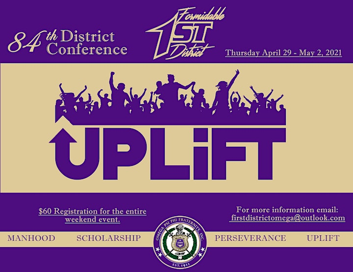84th 1st District Conference, Omega Psi Phi Fraternity, Inc.(Brothers Only) image