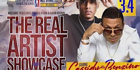 All Star Weekend: Cigar Brunch & Brims Edition The Real Artist Showcase tickets