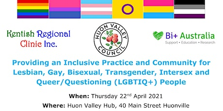 Training: Providing an inclusive practice and community for LGBTIQ+ people tickets