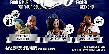 Soul Cafe| Sunday Night Jazz With Taylor Samuels tickets