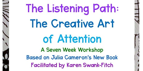 The Listening Path Workshop (Artist's Way) entradas