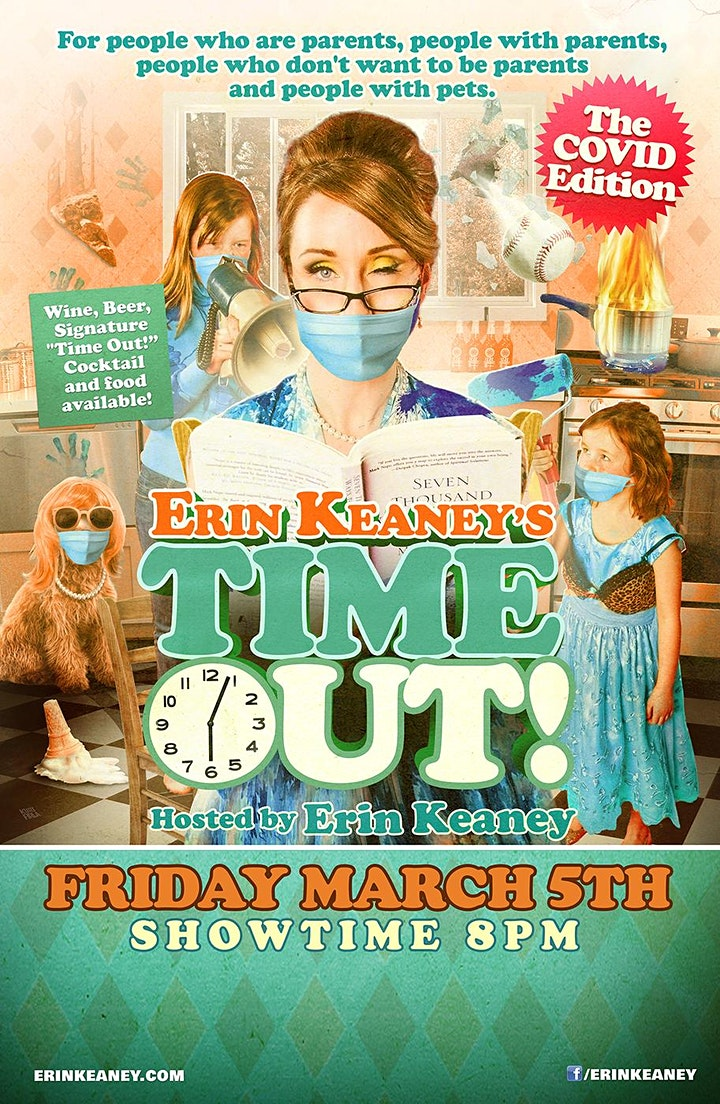 Erin Keaney's Time Out Comedy Show Covid edition image