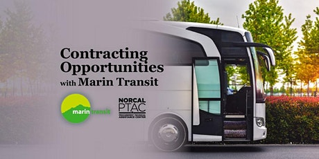 Contracting Opportunities with Marin Transit tickets