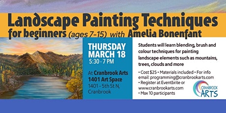 Landscape Painting Techniques - Youth tickets