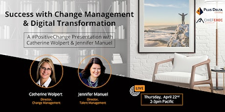 Success with Change Management & Digital Transformation tickets